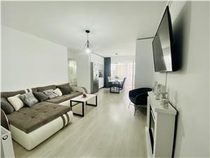 Apartament de vanzare in Sibiu - 2 bai, 2 balcoane, zona de Vest