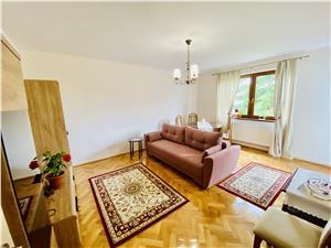 Wohnung zu vermieten in Sibiu -2 Zimmer mit Balkon, Garten und Dachbod
