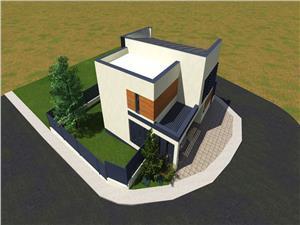 Casa de vanzare in Sibiu - INDIVIDUALA- 4 camere si 2 bai -250mp Teren