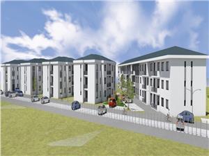 Wohnung zu verkaufen in Sibiu - Selimbar - freistehend