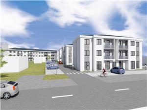 Wohnung zu verkaufen in Sibiu - Selimbar - neuer Komplex - 1. Stock