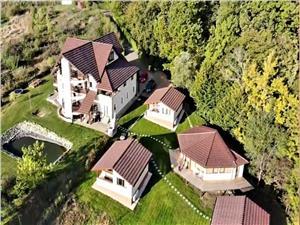 Teren si vila de vanzare in Sibiu - domeniu deosebit - Cisnadioara