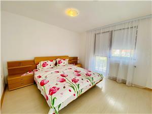 Apartament de inchiriat in Sibiu - La vila - 90 mp utili - 3 balcoane
