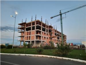 3-Zimmer-Wohnung zum Verkauf in Sibiu -  2 B?der und Balkon