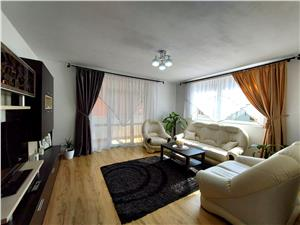 Apartament de vanzare in Sibiu - in vila cu curte privata - etaj 1/2