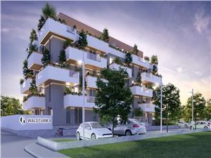 3 Zimmer Wohnung mit zwei Terrassen und Pool