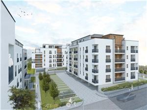 Wohnung zu verkaufen in Sibiu - Block mit Aufzug und Abstelraum