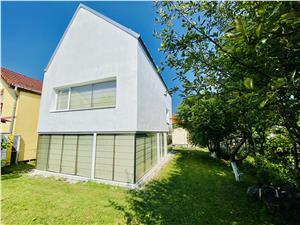 Casa individuala de vanzare in Sibiu - design modern - zona Strand