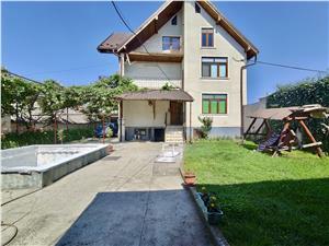 Casa de vanzare in Sibiu - Avrig - individuala - cu pivnita, piscina