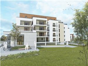 3-Zimmer-Wohnung zu verkaufen in Sibiu-2 Balkone,Aufzug, Abstellraum
