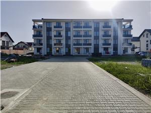 Apartament 3 camere de vanzare in Sibiu - Selimbar - nou - et intermed