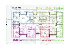 Apartament De Vanzare In Sibiu -Decomandat -Finisat LA CHEIE -H.Coanda