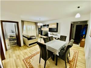 Wohnung zu verkaufen in Sibiu - 3 Zimmer und 2 geschlossene Balkone -