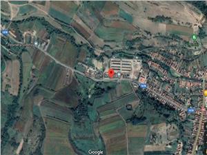 Teren de vanzare in Sibiu-Slimnic - intravilan - 8289 mp -