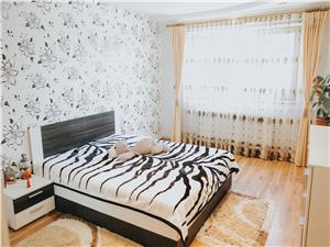 Apartament de vanzare in Sibiu - 3 camere, pivnita - zona Vasile Aaron