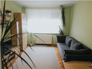 Wohnung zu vermieten in Sibiu -2 Zimmer und Balkon - Terezian Bereich
