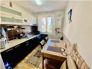 Wohnung zum Verkauf in Sibiu - 3 Zimmer und Balkon - Rahovei area
