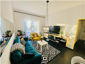 Wohnung zu verkaufen in Sibiu - 2 Zimmer, Balkon und Terrasse, Luxusko