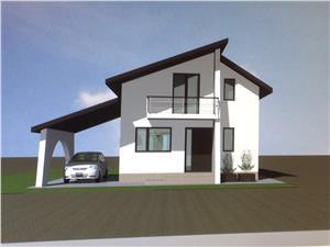 Casa de vanzare in Sibiu - Single - Gradina Spatioasa