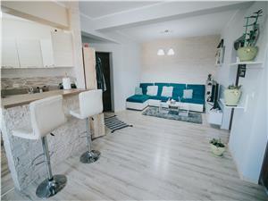 Wohnung zu vermieten in Sibiu - 3 Zimmer mit 2 Balkonen und Garten