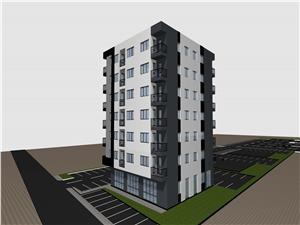 Wohnung 4 Zimmer zu verkaufen in Sibiu - Doamna Stanca - Wohnanlage
