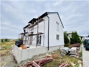 Casa de vanzare in Sibiu - individuala - la alb - Cartier Bavaria