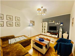 Apartament de vanzare in Sibiu - 3 camere - mobilat si utilat modern