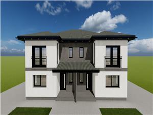 Casa de vanzare in Sibiu - Cisnadie - tip duplex - 4 camere
