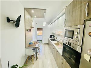 Wohnung zu verkaufen in Sibiu - 2 Zimmer, Terrasse und Balkon - Devent