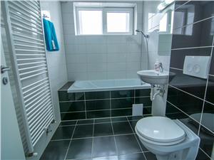 Apartament mobilat si utilat 3 camere de inchiriat in Sibiu