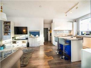 Apartament 3 camere de vanzare in Sibiu - mobilat si utilat de lux