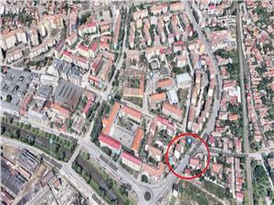 Spatiu comercial de inchiriat in Sibiu, 2 camere, zona Terezian
