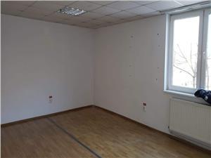 Spatiu comercial de inchiriat in Sibiu - cu 2 camere - zona Terezian