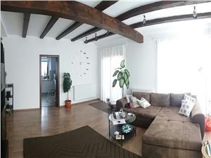 Casa de vanzare in Sibiu, mobilata si utilata modern, curte 500 mp