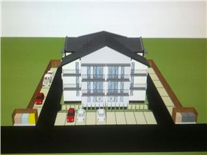 Apartament de vanzare in Sibiu cu 2 camere decomandate + 3 balcoane