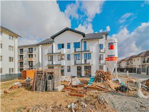Apartament 2 camere decomandate de vanzare in Sibiu-bucatarie separata