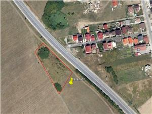 Land for sale in Sibiu - 6,500 sqm - DN1 Selimbar