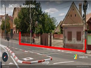 Teren de vanzare in Sibiu - 1543 mp