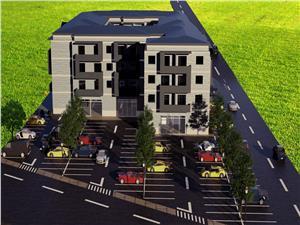 Apartament de vanzare in Sibiu cu gradina de 43 mp