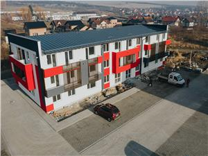 Apartment for sale in Sibiu - Cisnadie -2 rooms- 40.4 sqm useful