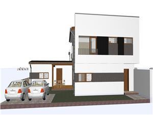 Casa de vanzare in Sibiu, duplex cochet si modern - Selimbar