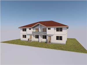 Casa de vanzare in Sibiu - 4 Camere - Gradina de 122 mp Amenajata