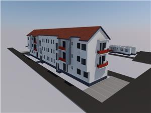 Apartament de vanzare in Sibiu - 2 camere - 48mp si balcon - Ciresica