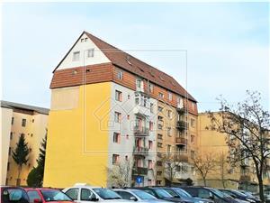 Apartment for sale in Sibiu- 3 rooms - C.Dumbravii area