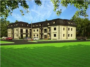 Wohnung zum Verkauf in Sibiu - gemischte Aussicht - 2 Balkone