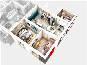 Apartament de vanzare in Sibiu (Cisnadie) - ansamblu rezidential nou