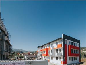 Apartamente de vanzare in Sibiu (Cisnadie) - terase de 15.8 mp, 2 bai