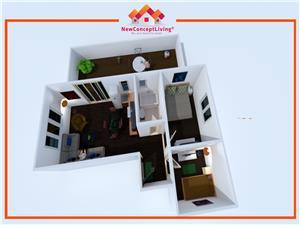 Apartament de vanzare in Sibiu - 3camere -Terasa de 33 mp