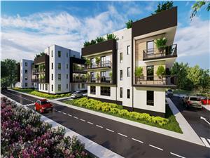 Apartament de vanzare in Sibiu cu 2 camere Etaj 1 si Balcon de 21 mp