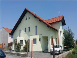 Casa de vanzare Sibiu -DUPLEX INTABULAT mobilat si utilat complet.
